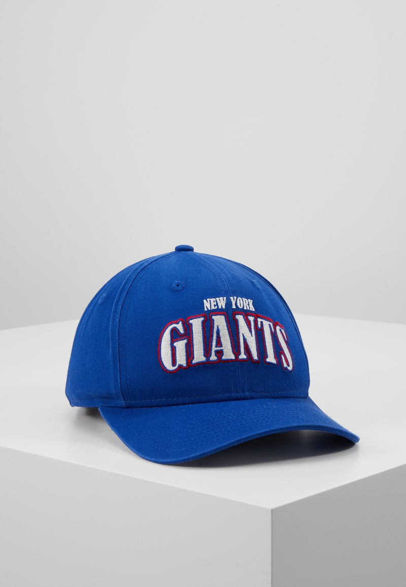 New Era - NFL NEW YORK GIANTS PRECURVED - Pet - blue