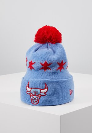 NBA CHICAGO BULLS OFFICIAL CITY SERIES - Čepice - sky blue