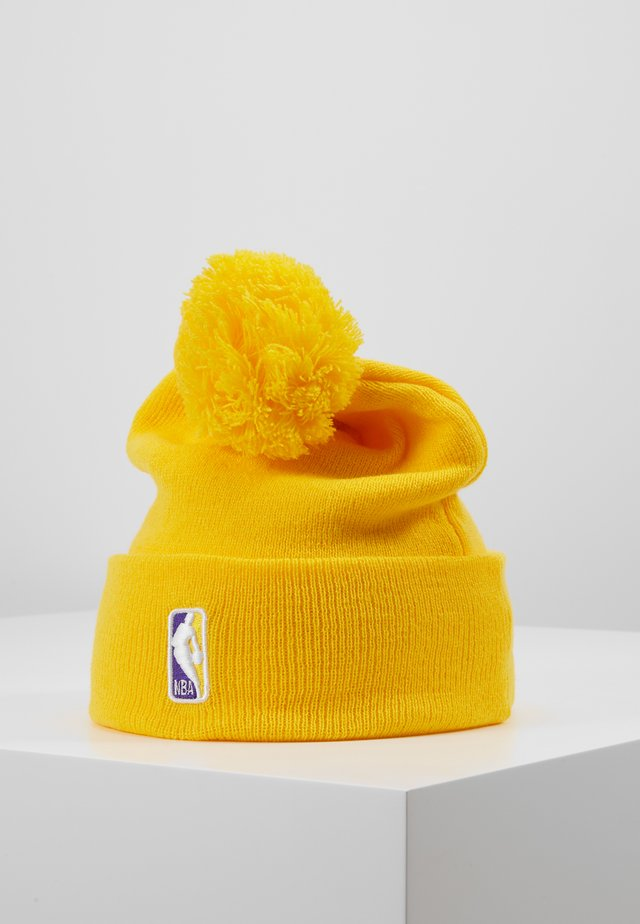 NBA LA LAKERS ALTERNATE CITY SERIES - Čepice - yellow