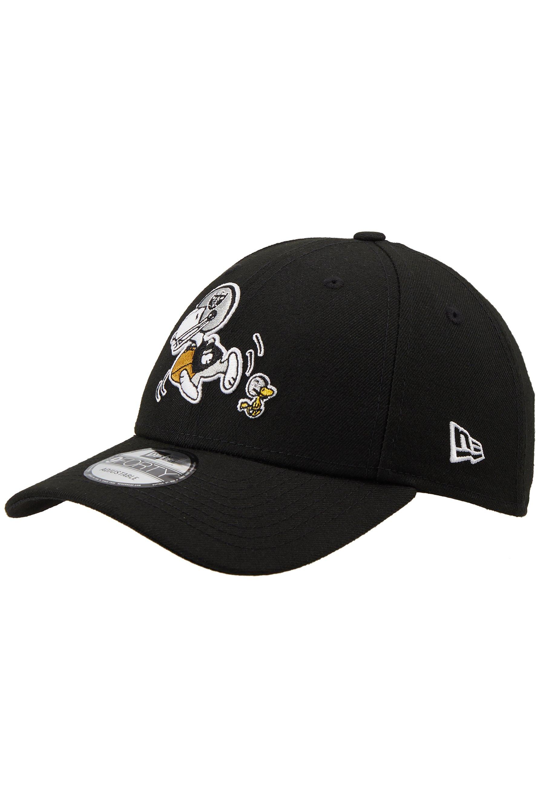 New Era 940 NFL PEANUTS OAKRAI - Czapka z daszkiem - black