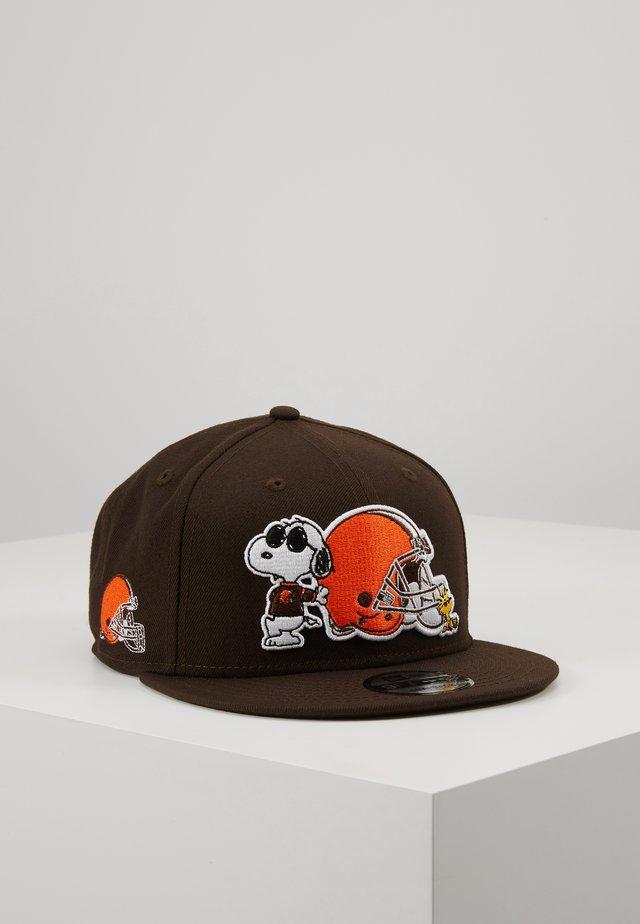 NFL PEANUTS CLEBRO - Cap - black