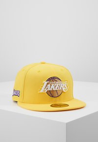 New Era - NBA LA LAKERS ALTERNATE CITY SERIES 59FIFTY - Pet - yellow - 1