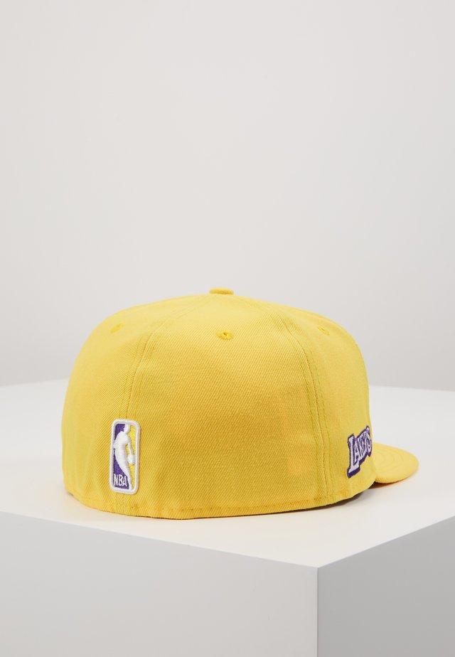 NBA LA LAKERS ALTERNATE CITY SERIES 59FIFTY - Cap - yellow