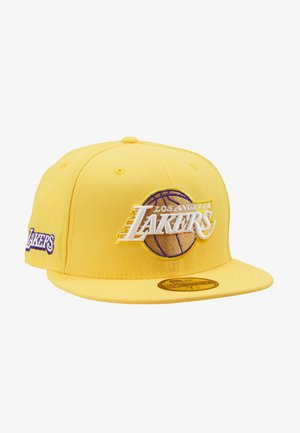 NBA LA LAKERS ALTERNATE CITY SERIES 59FIFTY - Casquette - yellow
