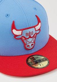 New Era - CHICAGO BULLS OFFICIAL CITY SERIES - Caps - sky blue - 2