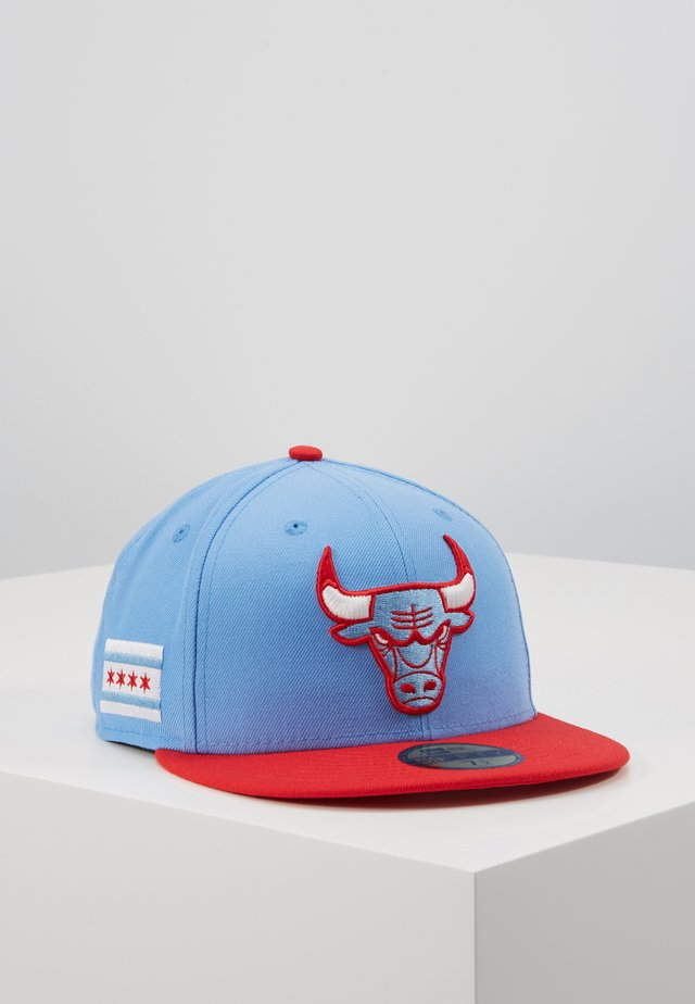 CHICAGO BULLS OFFICIAL CITY SERIES - Kšiltovka - sky blue