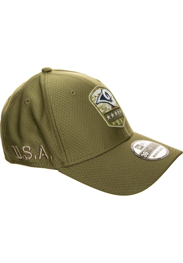39THIRTY NFL SALUTE TO SERVICE LOS ANGELES RAMS CAP - Cap - med brown