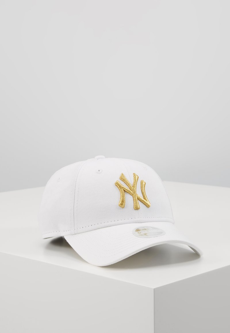 New Era - FEMALE WMNS METALLIC 9FORTY - Cap - new york yankees whi