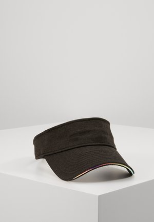 IRIDESCENT VISOR - Cap - black