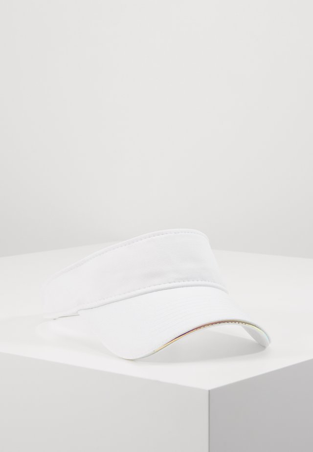 FEMALE IRIDESCENT VISOR - Caps - white