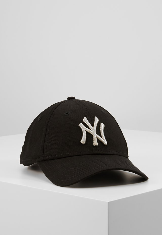 FEMALE WMNS METALLIC 9FORTY - Keps - new york yankees blk