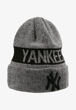 MARL CUFF  - Beanie - black/grey heather