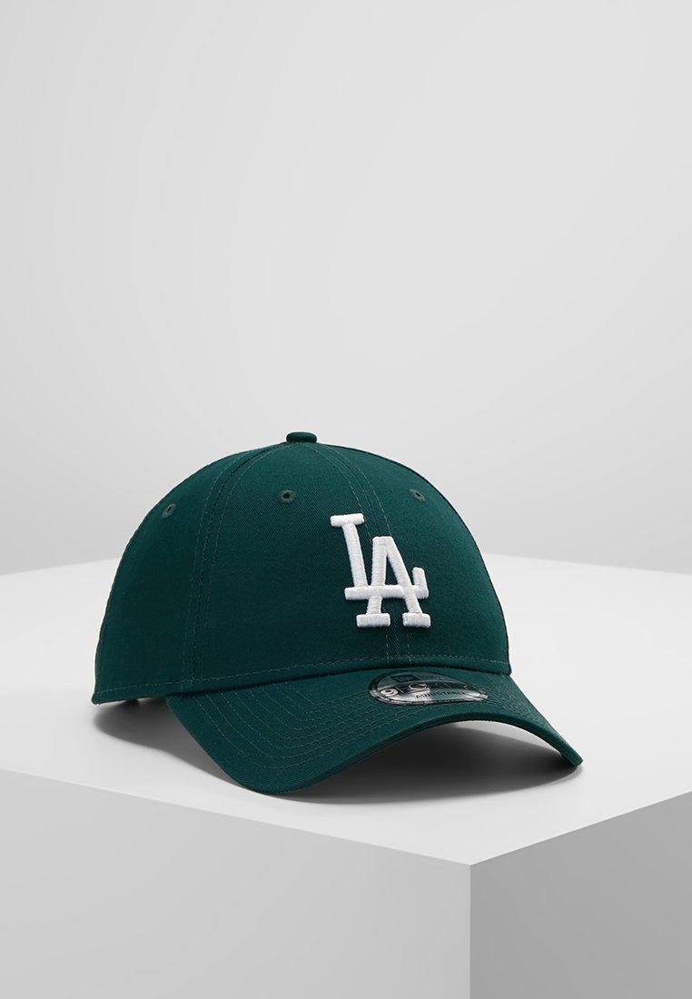 New Era - LEAGUE ESSENTIAL 9FORTY - Cap - dark green/optic white