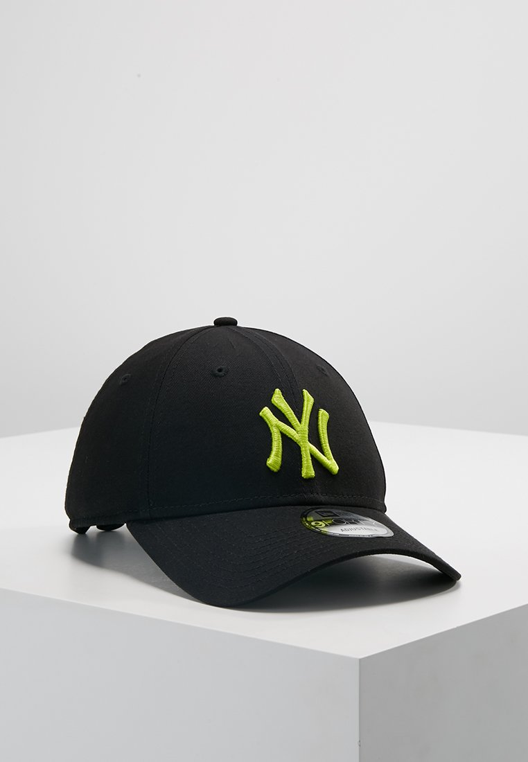 New Era - LEAGUE ESSENTIAL 9FORTY - Casquette - black/cyber green