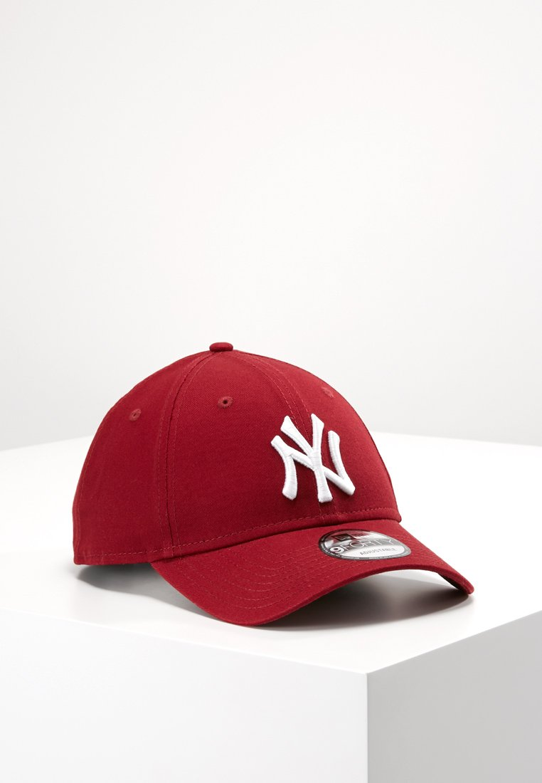 New Era - LEAGUE ESSENTIAL 9FORTY - Czapka z daszkiem - cardinal/optic white