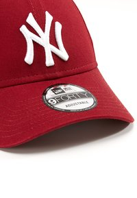 New Era - LEAGUE ESSENTIAL 9FORTY - Czapka z daszkiem - cardinal/optic white - 4