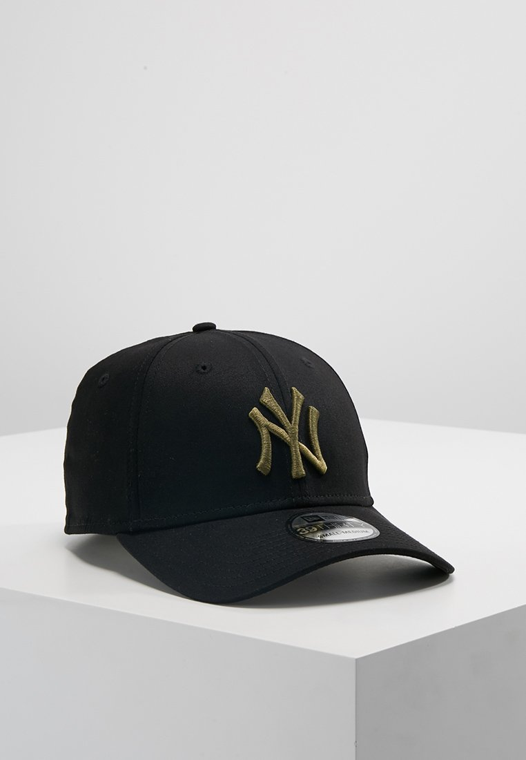 New Era - LEAGUE ESSENTIAL THIRTY - Pet - black/new olive
