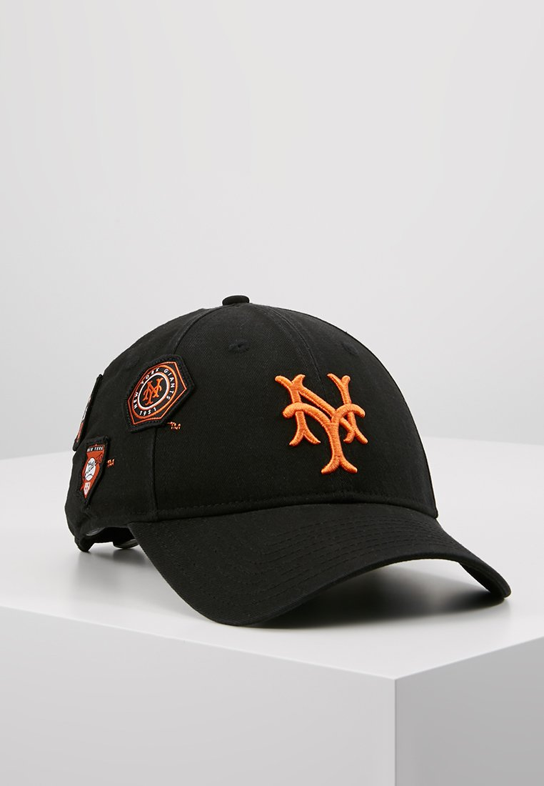 New Era - COOPERSTOWN PATCHED 9FORTY - Pet - black/orange