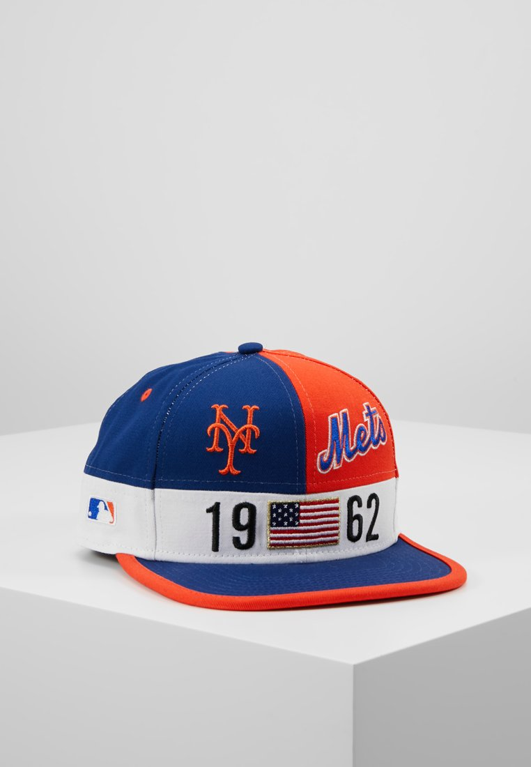 New Era - COLOUR BLOCK LEAGUE 9FIFTY - Cap - red/blue