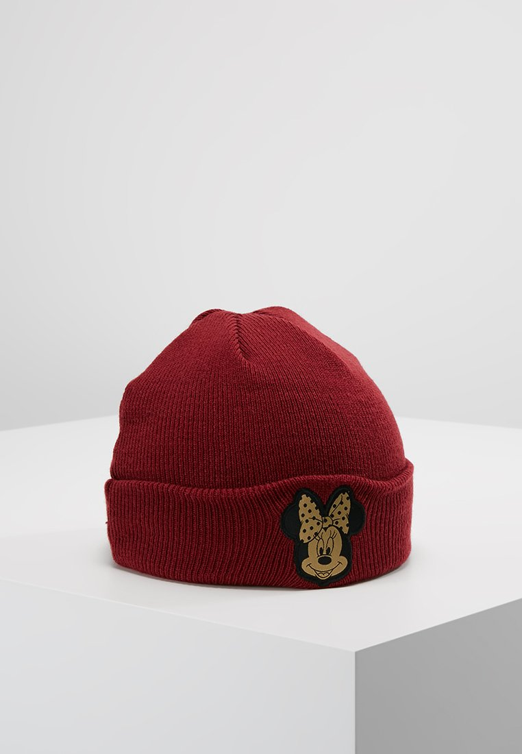 New Era - MINNIE MOUSE CHARACTER KNIT KIDS - Beanie - cardinal/gold