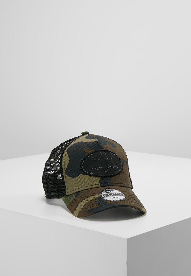 New Era - TRUCKER BATMAN - Lippalakki - dark green