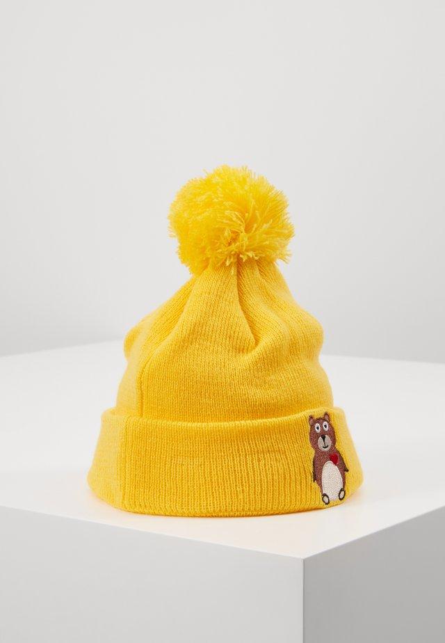 ANIMAL HEART CUFF - Bonnet - mustard yellow
