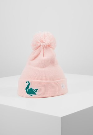 PAPER SHAPES SWAN CUFF - Beanie - light pink
