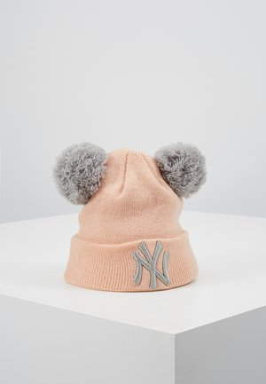 KIDS DOUBLE BOBBLE NEW YORK YANKEES - Bonnet - light pink