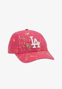 New Era - KIDS PACK FORTY PAINT LOS ANGELES DODGER - Lippalakki - pink - 1