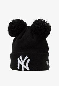 New Era - KIDS DOUBLE BOBBLE NEW YORK YANKEES - Čepice - black/white - 1