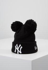 New Era - KIDS DOUBLE BOBBLE NEW YORK YANKEES - Čepice - black/white - 0
