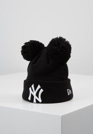 KIDS DOUBLE BOBBLE NEW YORK YANKEES - Beanie - black/white