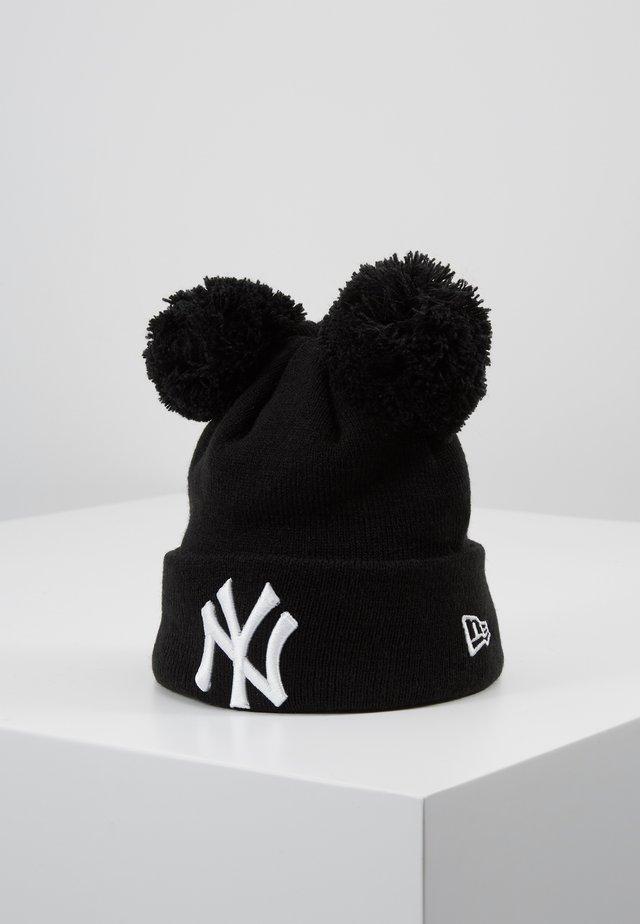 KIDS DOUBLE BOBBLE NEW YORK YANKEES - Mössa - black/white