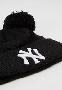 New Era - KIDS DOUBLE BOBBLE NEW YORK YANKEES - Čepice - black/white - 2