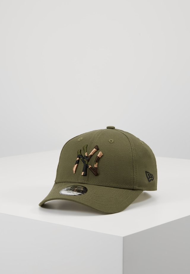 KIDS CAMO INFILL 9FORTY NEW YORK YANKEES  - Cap - olive