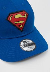 New Era - KIDS CHARACTER SUPERMAN OFFICAL - Kšiltovka - blue - 2