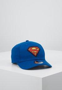New Era - KIDS CHARACTER SUPERMAN OFFICAL - Kšiltovka - blue - 0