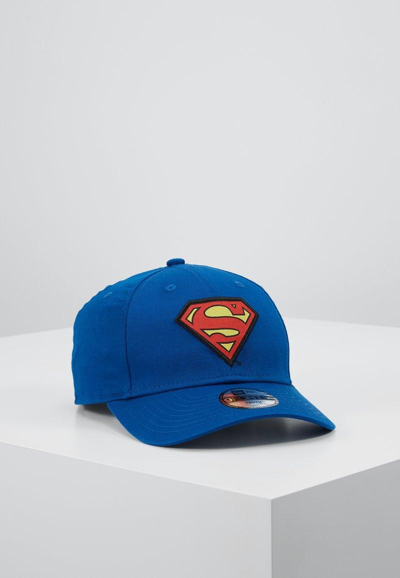 New Era - KIDS CHARACTER SUPERMAN OFFICAL - Kšiltovka - blue