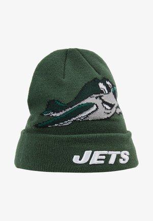 INFANT MASCOT CUFF NEW YORK JETS - Beanie - green