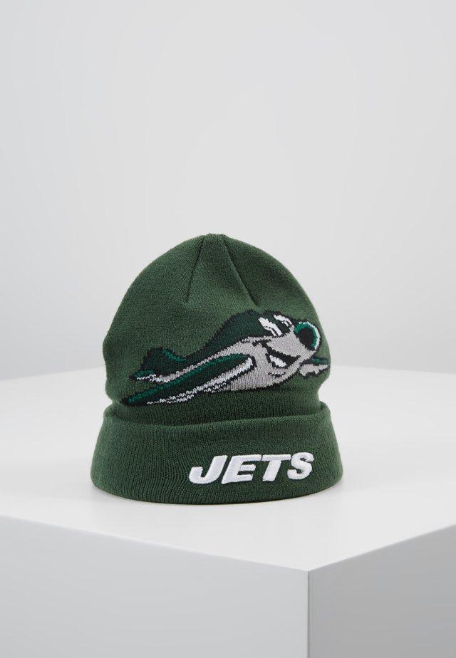 INFANT MASCOT CUFF NEW YORK JETS - Mütze - green