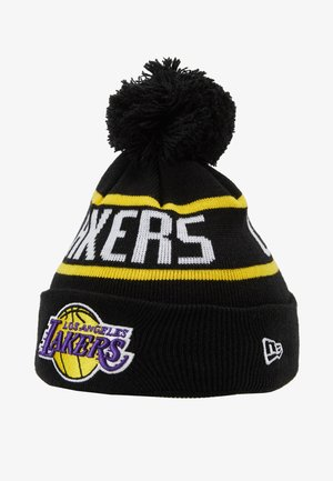 KIDS BOBBLE LOS ANGELES LAKERS - Čepice - black/ yellow