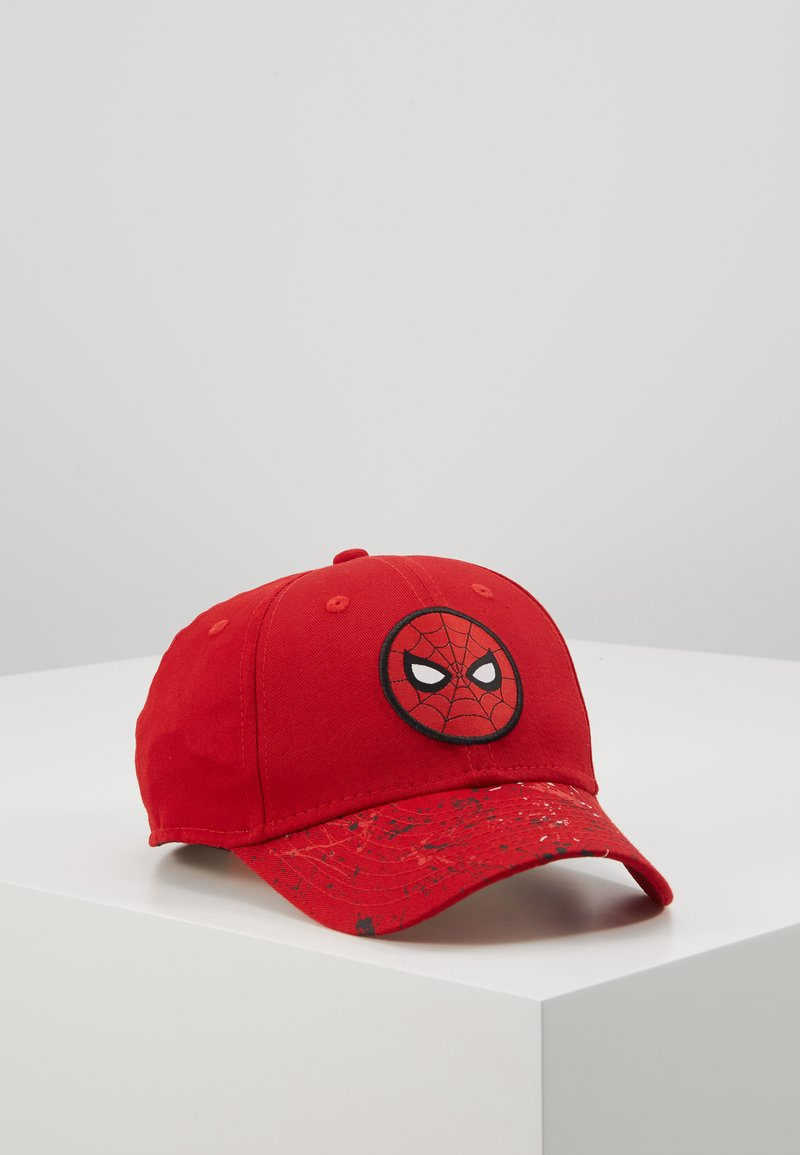 New Era - KIDS CHARACTER 9FORTY SPIDERMAN CAR - Czapka z daszkiem - red