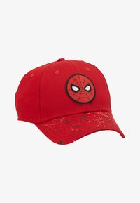 New Era - KIDS CHARACTER 9FORTY SPIDERMAN CAR - Czapka z daszkiem - red - 1