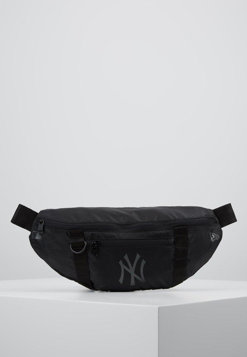 New Era - WAIST BAG LIGHT - Ledvinka - black