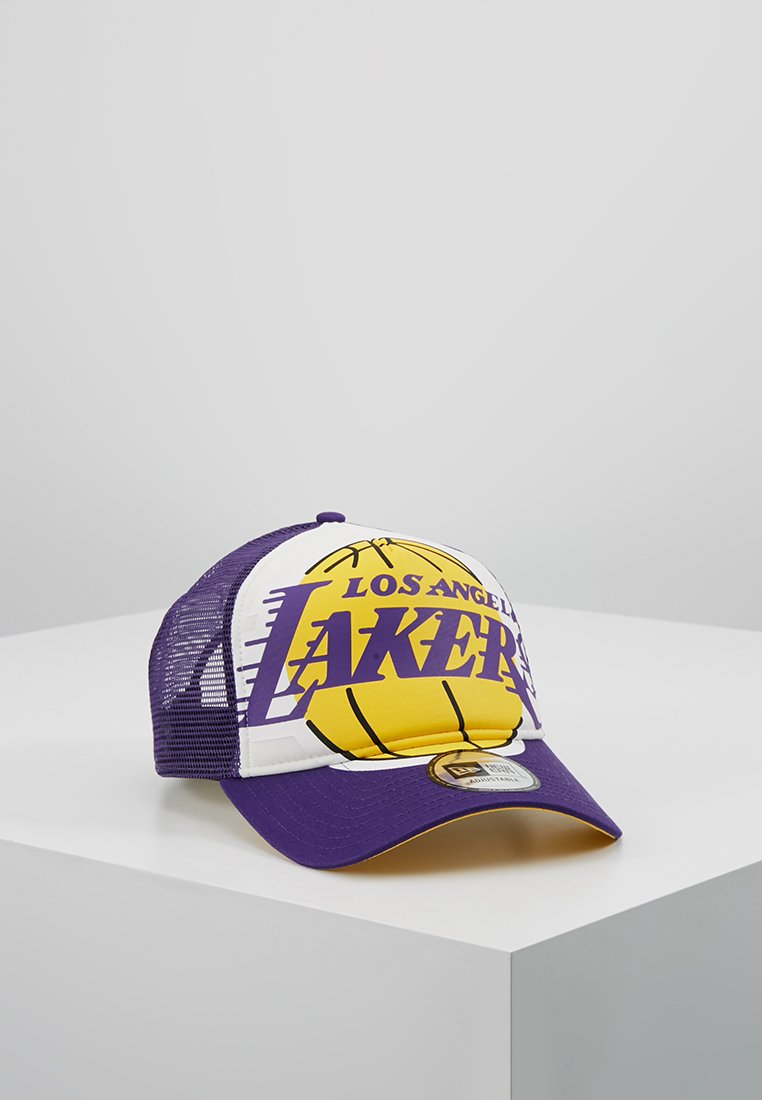 New Era - NBA RETRO PACK TRUCKER - Kšiltovka - los angeles lakers