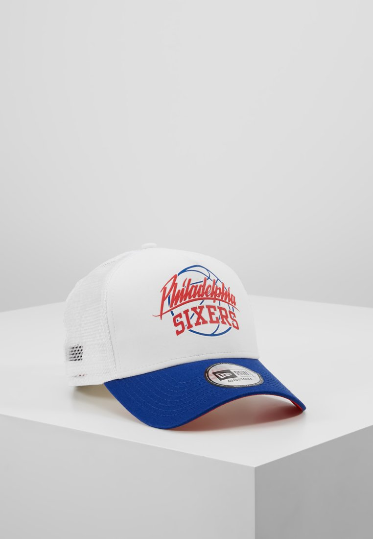 New Era - NBA TRUCKER - Cap - blue/white