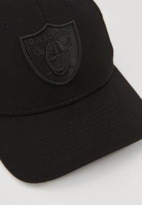 New Era - TONAL 9FIFTY STRETCH SNAP - Caps - black - 2