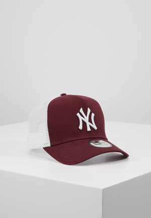 ESSENTIAL AFRAME TRUCKER - Cap - bordeaux