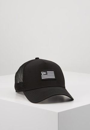 NEW ERA US TRUCKER - Lippalakki - black