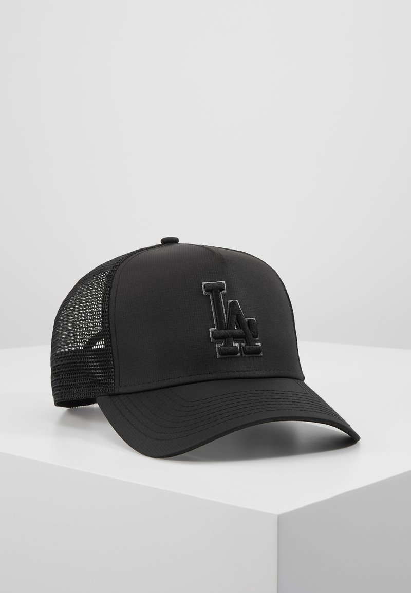 New Era - TONAL AFRAME TRUCKER - Lippalakki - black